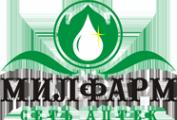 Логотип компании МИЛФАРМ