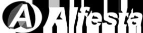 Логотип компании Алфэста