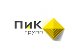 Логотип компании ПиК Групп