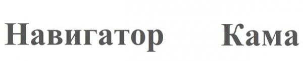 Логотип компании НАВИГАТОР-КАМА